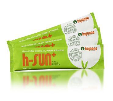 h-SUN+ von hajoona Grüner Kaffee ohne Abo oder Kaufverpflichtung mit Ling Zhi, Maitake, Acai, Proteinen and more..... – Bild 3