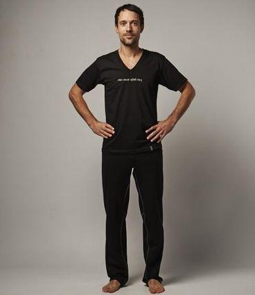 lange Yoga Männerhose, HANUMAN Longs von hut und berg balance