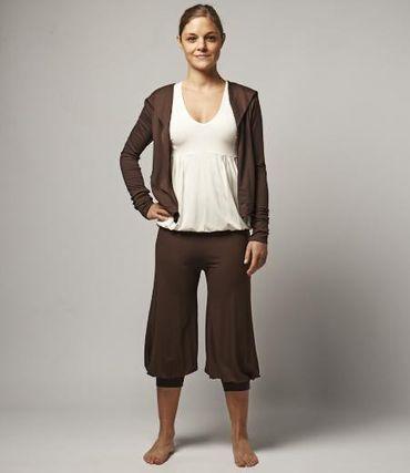 Yoga Damen-Kapuzenjacke, DIWALI Jacket Jiva von hut und berg balance