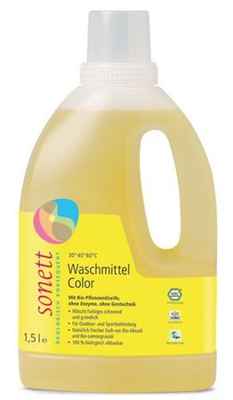 Sonett Color Waschmittel 1,5 L Mint & Lemon
