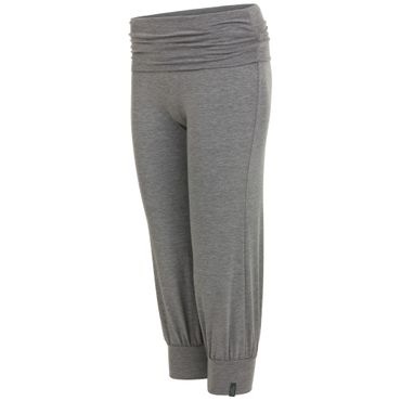 Yoga Damenhose mit Bund grau, LAKSHMI PANT von hut und berg balance