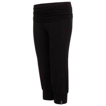 Yoga Damenhose mit Bund schwarz, LAKSHMI PANT von hut und berg balance