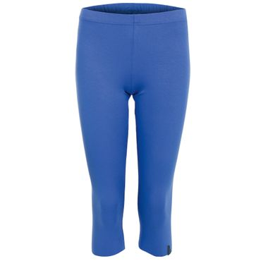 Yoga Damenhose blau, LOTUS Legging 3/4 von hut und berg balance