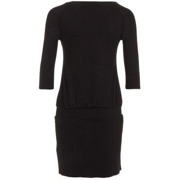 Yoga Damenkleid-Tunika schwarz, ALL DAY TUNIKA von hut und berg balance