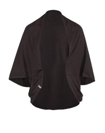 Yoga Damen-Jacke, SAMADHI Jacket schwarz von hut und berg balance