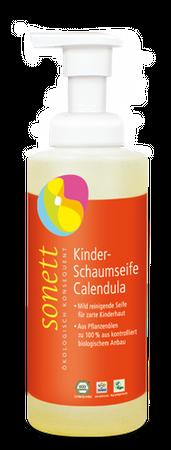 Kinder Schaumseife Calendula NEU, 200 ml Spenderflasche von Sonett GmbH