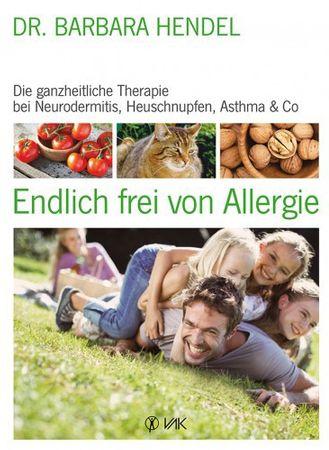 Buch Endlich frei von Allergie von Dr. Barbara Hendel